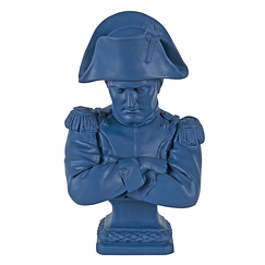 Bust of Emperor Napoleon - Empire blue