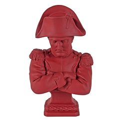 Bust of Emperor Napoleon - Empire red