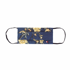 Reusable mask Hokusai - Bullfinch and weeping cherry-tree