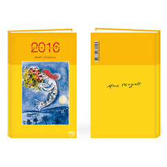 Diary 2016 Marc Chagall
