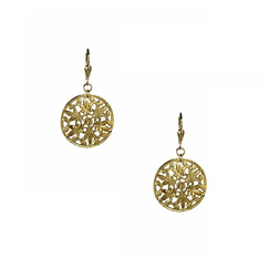 Officer Gilded Earrings - Anna Rivka