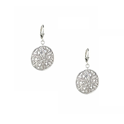 Officer Silver Earrings - Anna Rivka