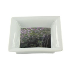 Square candy tray Monet