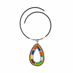 Oval Maasai necklace