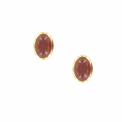 Elisabeth of austria Earrings with cabochon