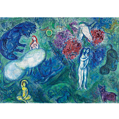 Marc Chagall - The Paradise Poster