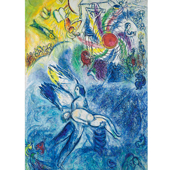 Marc Chagall - The Creation of Man Poster