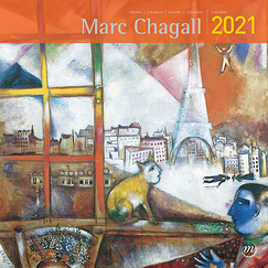 Calendrier 2021 Marc Chagall - Grand format