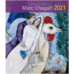 Calendrier 2021 Marc Chagall - Petit format