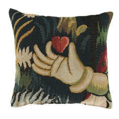 "Cushion ""The offering of the heart"""
