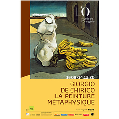 Exhibition poster - Giorgio de Chirico. Metaphysical painting