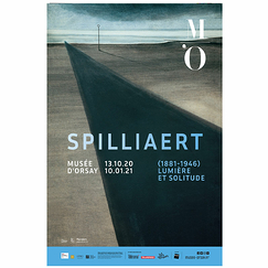 Exhibition poster - Spilliaert (1881-1946). Light and solitude