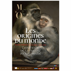 Exhibition poster - The Origins of the World. The Invention of Nature in the 19th Century
