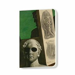 Giorgio de Chirico - Portrait of Guillaume Apollinaire Small Notebook