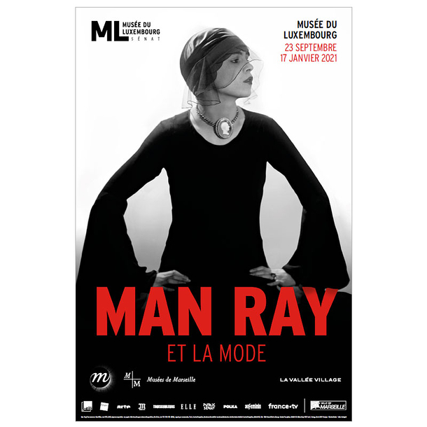 Exhibition poster - Man Ray and fashion