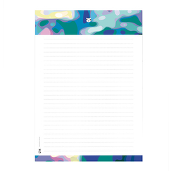 Notepad Waterlilies - Papier Tigre