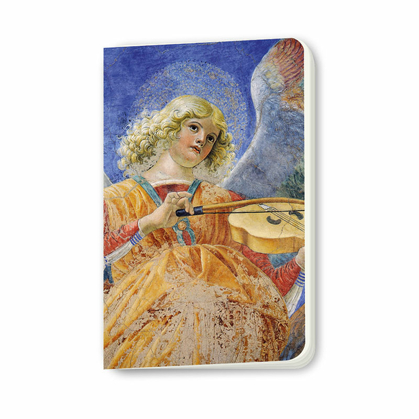 Melozzo da Forlì - Musician Angel Small Notebook