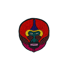 Mandrill brooch - Macon & Lesquoy