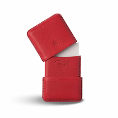 Riviera Card holder - Red