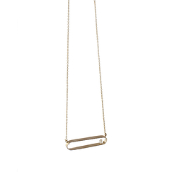 Tubular necklace - Rosa Mendez
