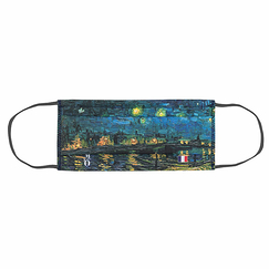 Reusable mask - Van Gogh Starry Night