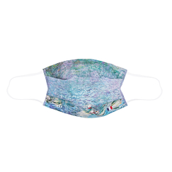 Reusable mask - Monet The Water Lilies: Morning