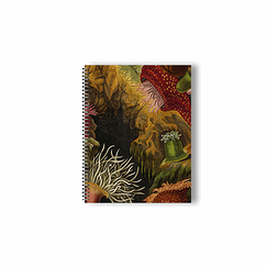 Philip Henry Gosse - Sea Anemones & Coral Notebook with spiral