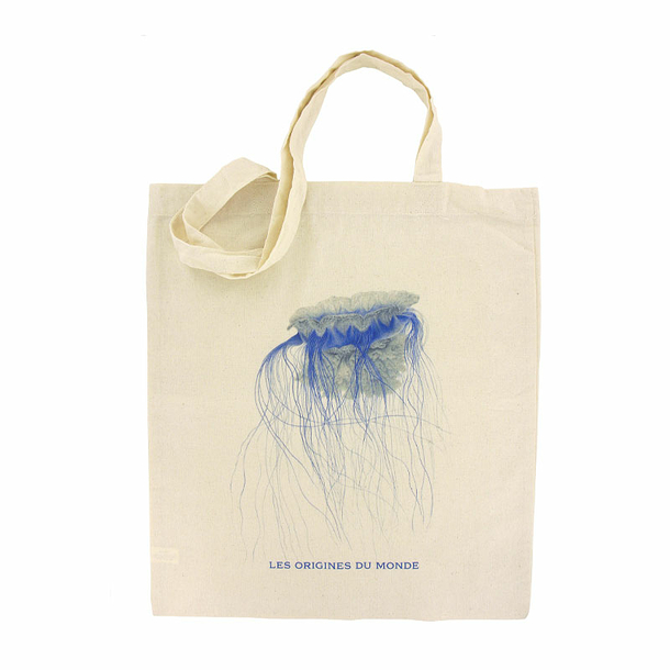The Origins of the World - Medusa Cyanea Totebag