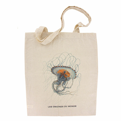 The Origins of the World - Medusa Chrysaora Lesueur Totebag