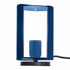Pivoting table lamp Charlotte Perriand - Nemo Lighting - Blue