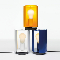 Pivoting table lamp Charlotte Perriand - Nemo Lighting - Yellow