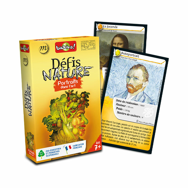 Défis Nature Game - Portraits in Art - Bioviva