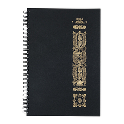 Gate of Fontainebleau Notebook with spiral