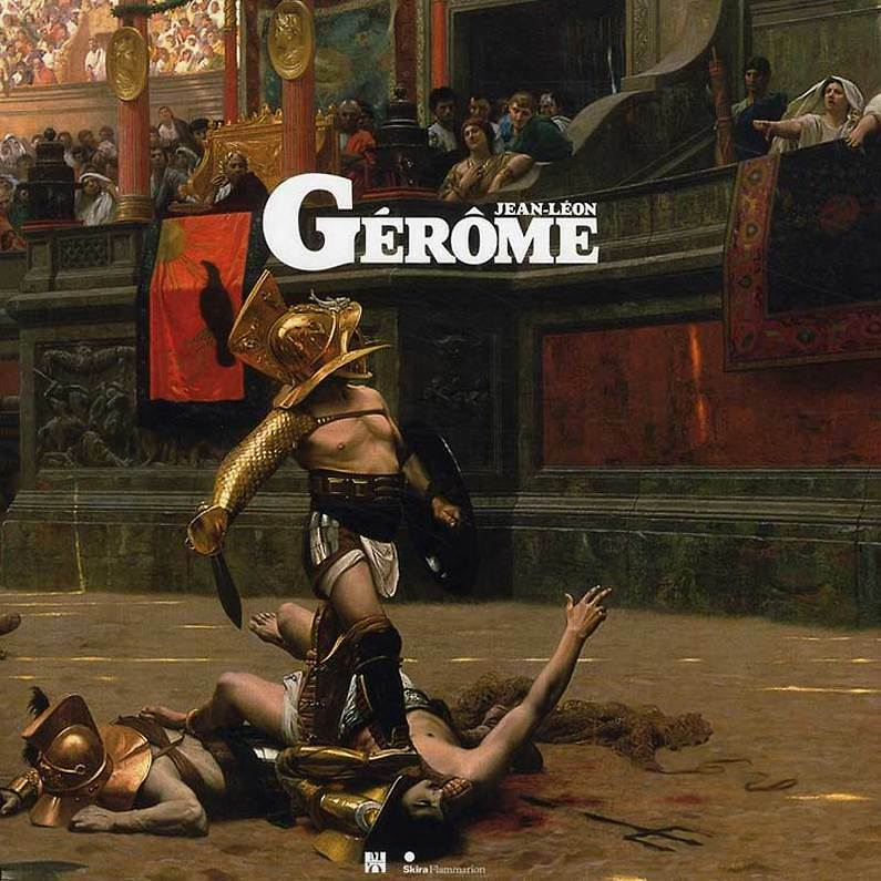 Catalogue de l'exposition Jean-Léon Gérôme