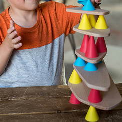 Construction and balance game Piks - Oppi