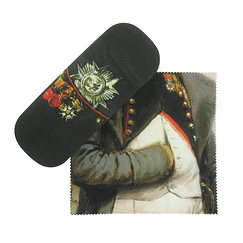 Glasses case and microfiber Napoléon Medals