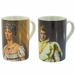 Napoleon in coronation costume Mug