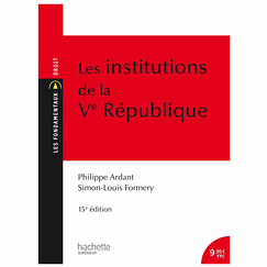 Les institutions de la Ve République