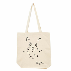 The Cat by Jean Cocteau Totebag