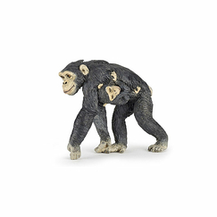 Chimpanzee and baby Figurine
