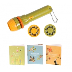 Garden Flashlight with 3 books