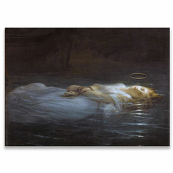 Paul Delaroche - The young martyr Poster