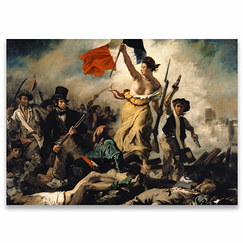 Eugène Delacroix - Liberty Leading the People Poster