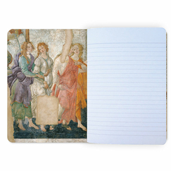 Sandro Botticelli - Venus and the Three Graces Notebook