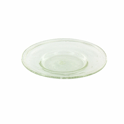 Coupelle en verre transparent