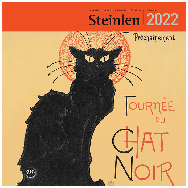 Calendrier 2022 Grand Format Calendrier 2022 Steinlen   Grand format | Boutiques de Musées