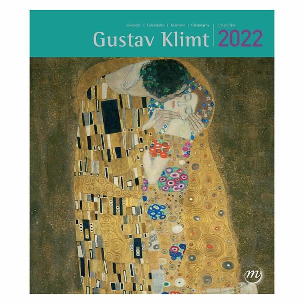 Calendrier 2022 Petit Format Calendrier 2022 Gustav Klimt   Petit format   Boutiques de Musées