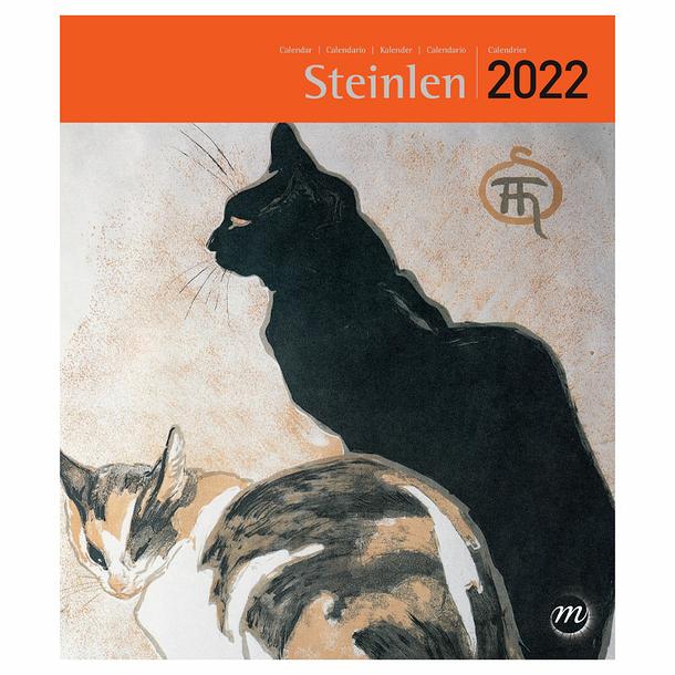 Petit Calendrier 2022 Calendrier 2022 Steinlen   Petit format   Boutiques de Musées