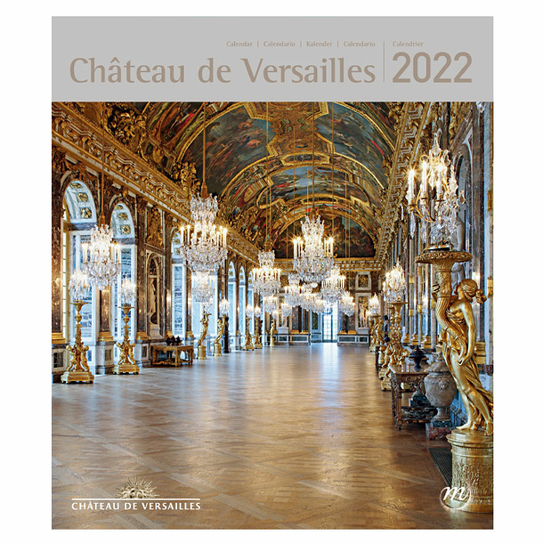 Calendrier 2022 Petit Format Calendrier 2022 Château de Versailles   Petit format   Boutiques