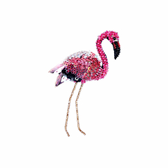 Flamingo Brooch - Trovelore